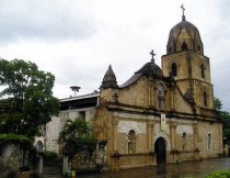 Guimbal church, one of the oldest in the Visayas